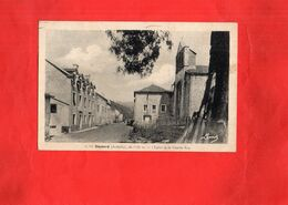 G0809 - RIEUTORD - D07 - L'Eglise Et La Grande Rue - Francia