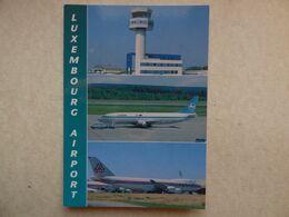 AEROPORT / AIRPORT / FLUGHAFEN     LUXEMBOURG - Aérodromes