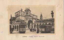 CARTOLINA VIAGGIATA UDINE PIAZZA V.EMANUELE (KP1430 - Udine
