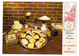 La Capelle 02 Aisne Bureau Temporaire  15ème Foire Aux Fromages 1982 - Matasellos Conmemorativos