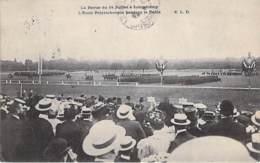 EVENEMENT ( Militaria ) PARIS Revue Du 14 Juillet 1913 à LONGCHAMP L'Ecole Polytechnique Pendant Le Défilé - CPA - - Andere