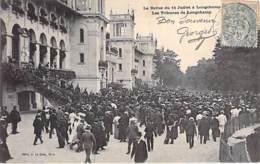 EVENEMENT ( Militaria ) PARIS Revue Du 14 Juillet 1913 à LONGCHAMP Les  Tribunes De Longchamp - CPA - - Andere