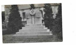 MONUMENT AUX MORTS 164 REGIMENT CIMETIERE NEUVILLE SAINT VAAST BETHUNE - CARTE PHOTO - Guerre 1914-18