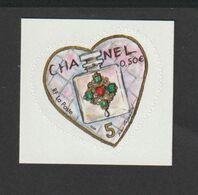 TIMBRE  2004       -  Adhésif N° 38/39  -  St Valentin  -   Cœur Du Couturier Karl Lagerfeld     -   Neufs - Nuovi
