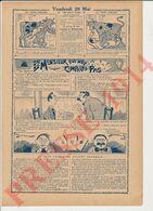 2 Vues Presse 1914 Humour Jeu De Cartes Piquet Joueurs Généalogie Lampeigne 231CH12 - Non Classés
