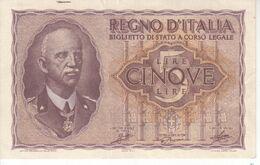 5998    ITALIA  5  LIRE  1944 - [ 1] …-1946: Königreich