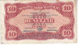 5998    SLOVENIJA  SNOS  10  LIR   1944 - Slovenia