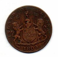 INDONESIA - ISLAND OF SULTANA, 1 Keping, Copper, Year 1804 (AH 1219), KM #Tn2 - Indonesien