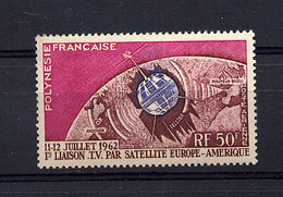 Polynésie  -  1962  -  Avion  :  Yv  6  ** - Unused Stamps