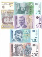 10-20-100-200 Dinara Republic Of Serbia !!!   UNC - Serbia