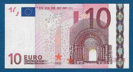 AUSTRIA - 2002 - BANCONOTA DA 10 EURO TRICHET SERIE N (F014A3) - NON CIRCOLATA (FDS-UNC) - IN OTTIME CONDIZIONI. - 10 Euro