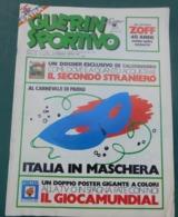 Guerin Sportivo 1982 N. 8 -con Inserto CALCIOMONDO N. 22 - Sport