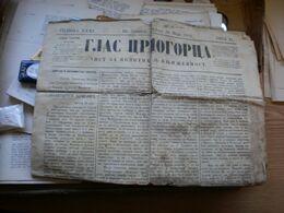 Glas Crnogorca Cetinje 1902 - Books, Magazines, Comics