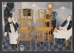 PJ103/ Lennart JIRLOW, *Le Dernier Client - The Last Guest* - Schilderijen