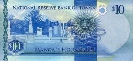 TONGA P. 46 10 P 2015 UNC - Tonga