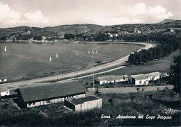 B3873 - Enna, Autodromo Del Lago Di Pergusa, Viaggiata 1960 F.G. - Enna
