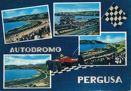 B3878- Enna, Autodromo Lago Di Pergusa, Viaggiata 1968 F.G. - Enna