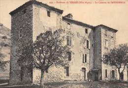 Environs De SERRES - Le Château De SAVOURNON - Très Bon état - Andere Gemeenten