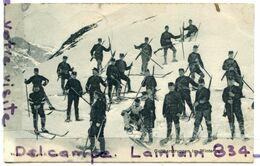 - 17 - Gotthardtruppen In Winter - Rare, Précurseur, écrite, 1907, Animation, épaisse, Photo Andermatt, TTBE, Scans, - UR Uri