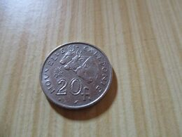 Nouvelle-Calédonie - 20 Francs 1970 .N°568. - New Caledonia