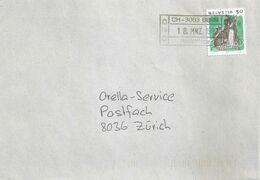 "Brief  ""Oberzolldirektion Bern"" (OZD) - Zürich  (Abklatsch)             1992 - Covers & Documents"