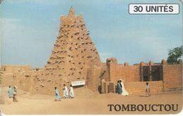 MAL-27 - Tombouctu - Blue Logo - Mali