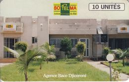 MAL-41 - Baco Djicorema Agency - Schlumberger Logo - Mali