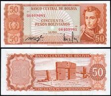 Bolivien - Bolivia 50 Bolivianos 1962 XF (2) Pick 162a    (14301 - Banconote