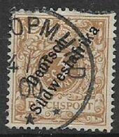 GERMANIA REICH COLONIA  AFRICA DEL SUD OWEST 1900  SOPRASTAMPATI   YVERT 7 USATO VF - Colonie: Cameroun