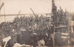 CARTE PHOTO ALLEMANDE MYKOLAJIW МИКОЛАЇВ NIKOLAJEW  1918   PENICHES ? - Ukraine