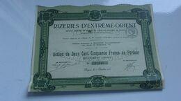 Rizeries D'extreme Orient (saigon , Indochine) - Non Classificati