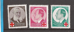 5-YU-KR   1936  328-29 + 2   JUGOSLAVIJA JUGOSLAWIEN  KINDERHILFE  PRInz PAVLE ROT KREUZ  MNH - Neufs