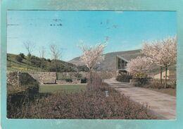 Small Postcard Of The Memorial Gardens,Aberfan, Merthyr Tydfil,Mid Glamorgan, Wales,Y106. - Glamorgan