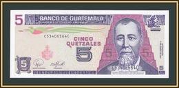 Guatemala 5 Quetzales 2007 P-106 (106c) UNC - Guatemala
