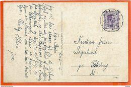 DK071,,   GRAASTEN   RARE De LUXE CHRISTIAN X CANCEL   SENT 1925 - 1913-47 (Christian X)