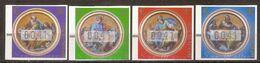 (Fb).Vaticano.2002.Francobolli Automatici.Serie Completa 4 Valori Nuovi (188-18) - Ungebraucht