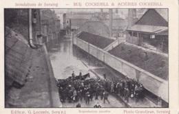 Inondations De Seraing Rue Cockerill Et Aciéries Cockerill - Seraing