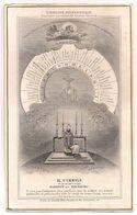 Image Religieuse - L'horloge Eucharistique - Santini