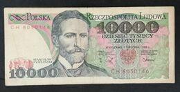 CSRS20 - Poland 10000 Zlotych Banknote 1988 - Poland