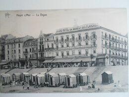 Heyst HEIST : La Digue Zeedijk Hotel De Flandre - Heist