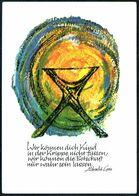 E0363 - TOP Elly Reichert Glückwunschkarte Weihnachten - Weihnachtskrippe Krippe - Johannes Kiefel Verlag - Christmas