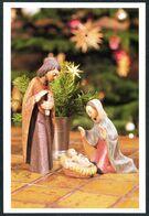 E0366 - TOP Glückwunschkarte Weihnachten - Weihnachtskrippe Krippe - Christmas