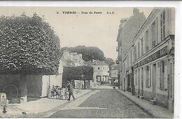 91,Essonne, YERRES, Rue De Paris, Animations, Scan Recto-Verso - Yerres