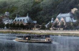 NAMUR Bateau Mouche Touristes Meuse Casino BELGIUM Riverboat River - Otros