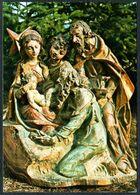 E0377 - TOP Glückwunschkarte Weihnachten - Skulptur Von Zenz Prinoth St. Ulrich - Weihnachtskrippe Krippe - Sculptures
