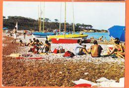X83138 SAINT-TROPEZ St 83-Var Port Pêche Plaisance Plage Salins Scène Bain Et TOUTESvoiliers 1975s CIMCOLOR COMBIER 0385 - Saint-Tropez