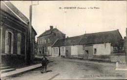 CPA Ribemont Somme, La Place - Francia