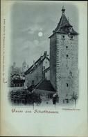 Clair De Lune CPA Schaffhausen Am Rhein Schweiz, Obertorturm - SH Schaffhausen