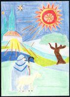 E0393 - Glückwunschkarte Weihnachten - Weihnachtskrippe Krippe - SOS Kinderdorf - Holidays & Celebrations