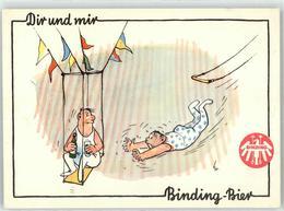 52786535 - Binding-Bier Artist Humor - Cartes Postales